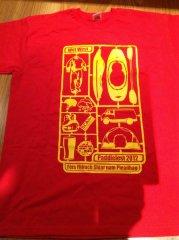 Wet West Paddlefest T-Shirt 2012