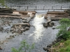 The main weir - it's the get out for the top section, and the put in for the lower section
